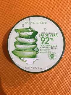 Nature Republic Aloe Vera 92% Lidah Buaya New/Baru