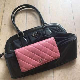Chanel classic wallet prada handbag 手袋 銀包