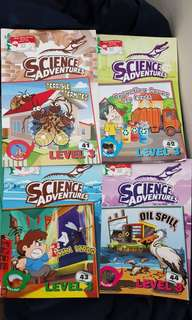 Science Adventures Level 3 (No. 41 - 49)