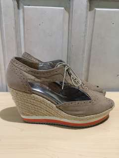 H&M Divided Oxford Wedge
