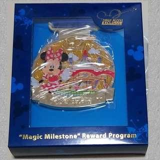 Disney MA Pin 迪士尼 2018 會員限定徽章 Minnie 米妮 一 個連盒