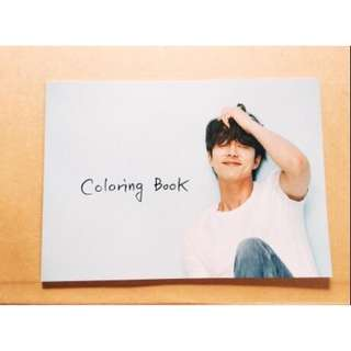 孔劉colouring book