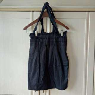 ⭐ Suspender Black Skirt