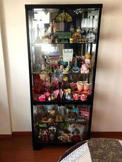 🎡Glass Display Cabinet
