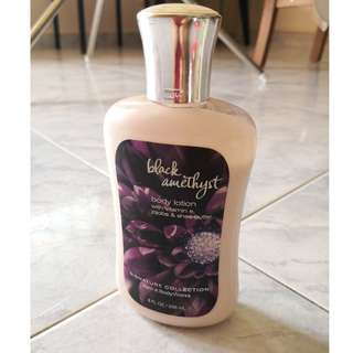 Bath & Body Works - Black Amethyst Body Lotion 236ml (DISCONTINUED ITEM)