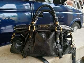 Authentic Miu Miu Prada Bow Bag