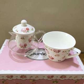 Gourdos teapot set