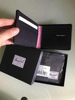 Herschel銀包黑色全卡位正貨$200個