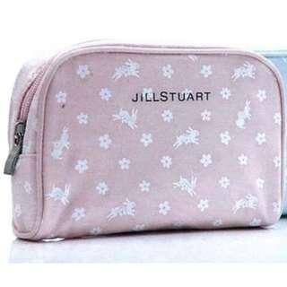 包平郵 全新連膠袋 JILL STUART 罕見粉綠色 化妝袋 筆袋 (圖2是實際顏色)