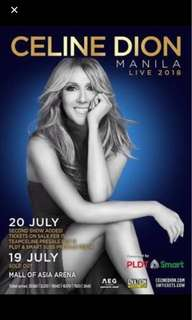 Discounted CELINE DION CONCERT Tickets