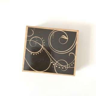 Hero arts design art wood block rubber stamp