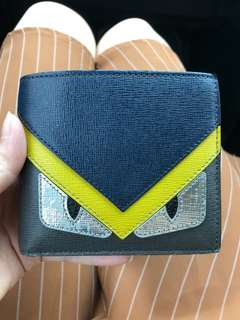 FENDI MONSTER MEN WALLET