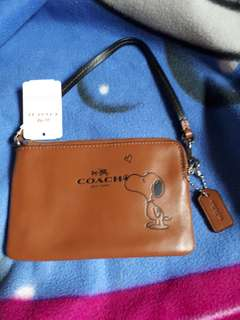Authentic Coach Snoopy Purse / Limited edition