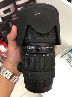 70-200mm F2.8 ii (no os) for Canon