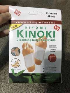 🚚 (Free Beauty Pouch) Kiyome Kinoki Cleansing Detox Foot Pads