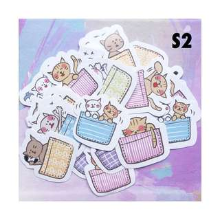 45pcs Cute Kittens Stickers