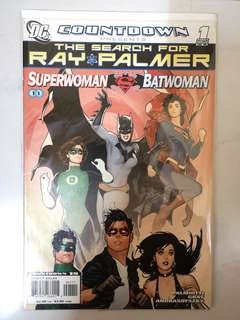 DC COMICS COUNTDOWN PRESENTS THE SEARCH FOR RAY PALMER #1