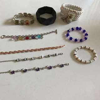 Beautiful bracelets - jewellery