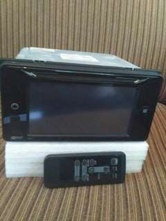 Head unit + Remote original Toyota Innova G Diesel Tahun 2014