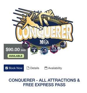 Mega Adventure Park Sentosa - Conquerer Package