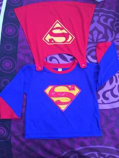 Superman costume for little boy