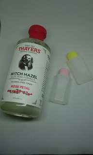 🆓POSTAGE Thayers toner travel/trial