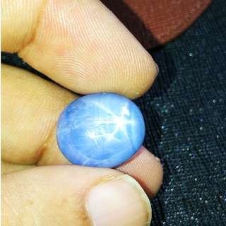 20.87cts Natural Big Burmese Blue Star Sapphire.Unheated. PM for details.