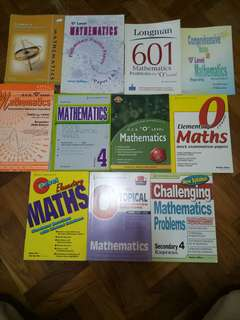 O levels mathematics guide and assessment books