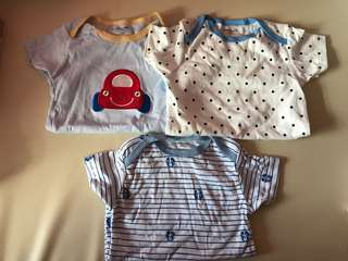Brand new carters Baby boy rompers 24m
