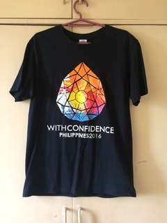 With Confidence Shirt and Poster with Autograph