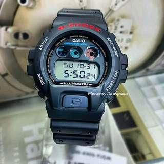 Montres Company香港註冊公司(25年老店) CASIO g-shock DW-6900 DW-6900-1 DW-6900-1V 有現貨 DW6900 DW69001