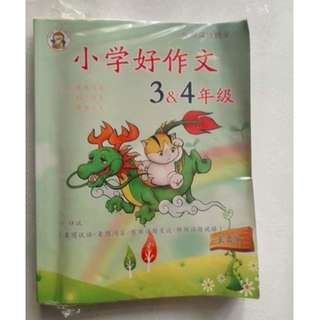 Chinese Composition guide book for P3 & 4