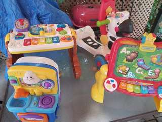 4 baby electronic learning toys