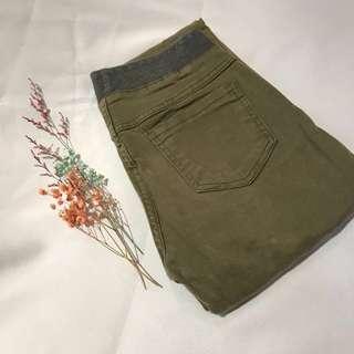 🚚 出清✨韓製墨綠長褲 #女裝半價拉