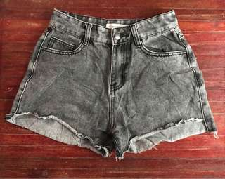 Preloved denim shorts