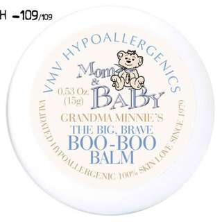 🌟 BRAND NEW VMV Hypoallergenics Grandma Minnie's The Big, Brave Boo Boo Balm