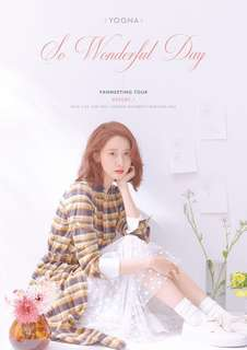 SNSD GIRLS GENERATION YOONA SO WONDERFUL DAY 2018 FANMEETING TOUR OFFICIAL GOODS