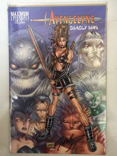 MAXIMUM PRESS AVENGELYNE DEADLY SINS #1