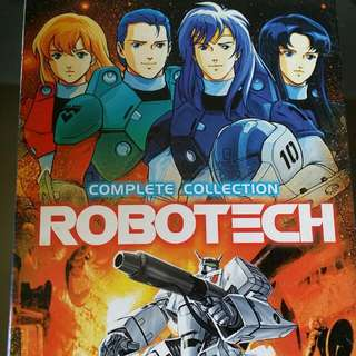 Robotech Complete Collection DVDs