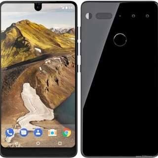 Essential Phone PH-1 + TPU Case + USB-C Cable & Dongle