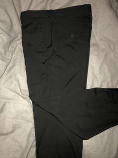 H&M Black Slacks Regular fit