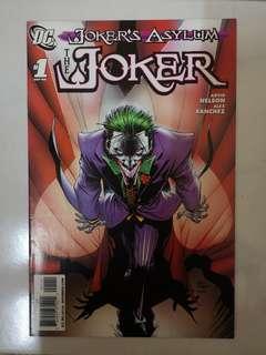 DC COMICS JOKER'S ASYLUM THE JOKER #1