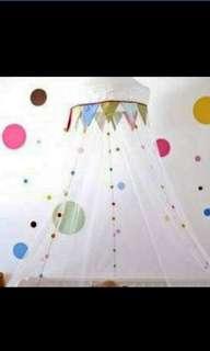 Ikea baby cot mosquito net