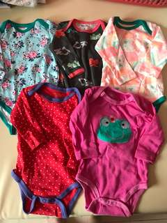 Brand new Baby Girl Long sleeve Rompers 3m