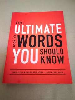 The Ultimate Book of Words You Should Know