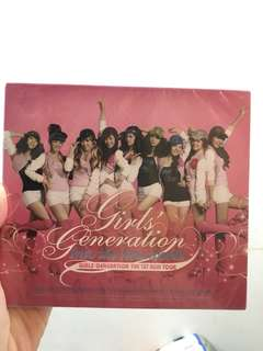 少女時代 亞巡 DVD Girl's Generation 1st Asia Tour