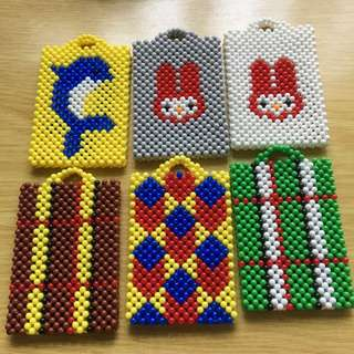🚚 BEADED EZ-Link CARDHOLDER