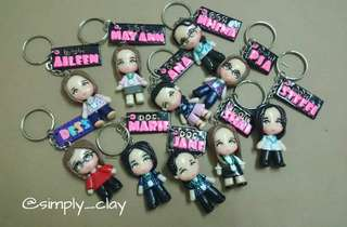 Personalized Chibi with nameplate
