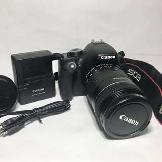Canon EOS 600D and EF-S 18-135mm f/3.5-5.6 IS Lens (Used)