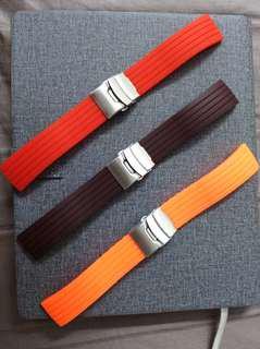 Rubber strap new 22mm